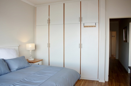 Second bedroom with built-in cupboards